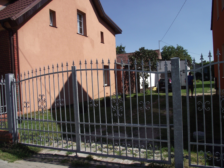 Ogrodzenie brama metalowa zofkam