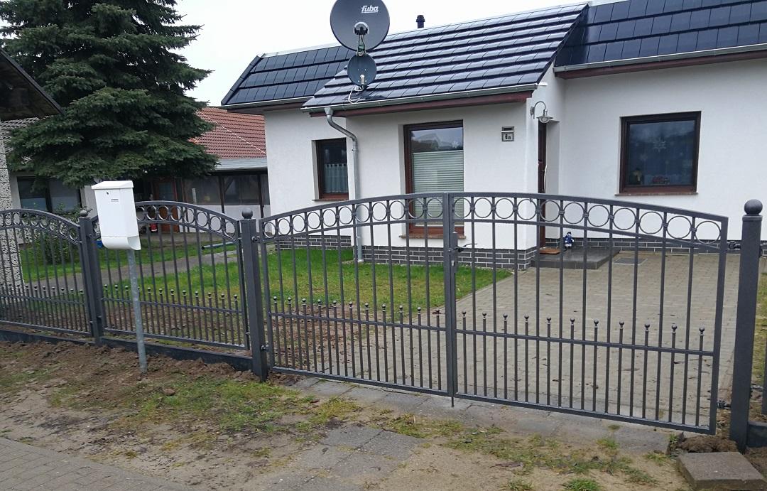 Ogrodzenie brama furtka metalowa zofkam 14