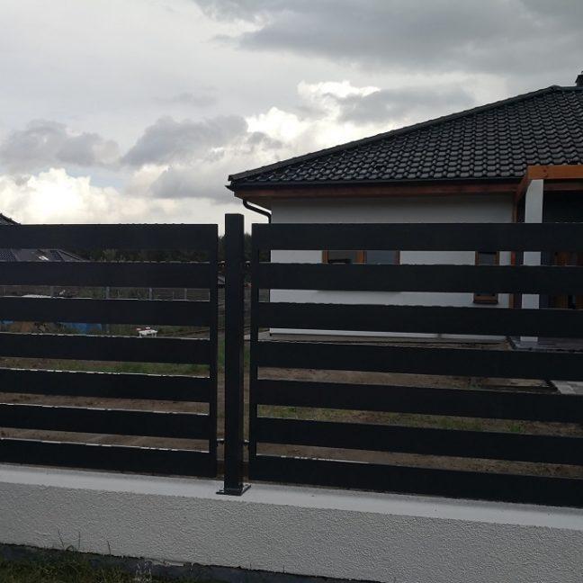 Ogrodzenie brama furtka metalowa zofkam