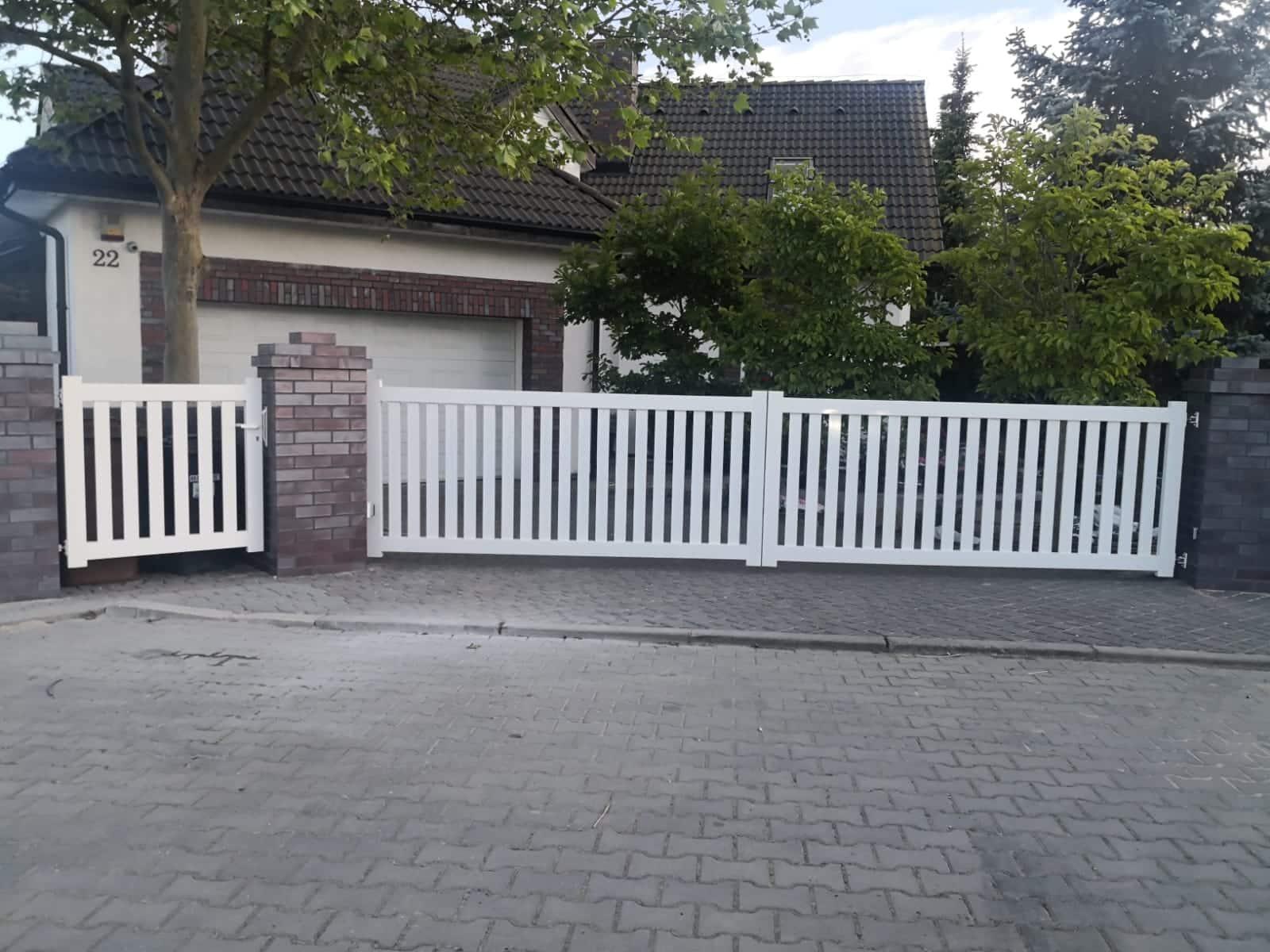 Ogrodzenie płot bramy brama garażowa furtka metalowa zofkam